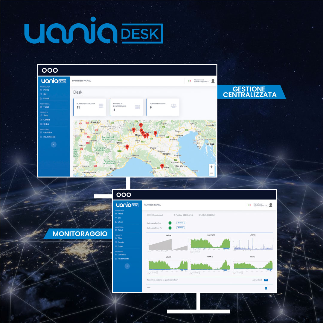 Uania cresce grazie al portale UaniaDesk che semplifica il lavoro per i suoi rivenditori